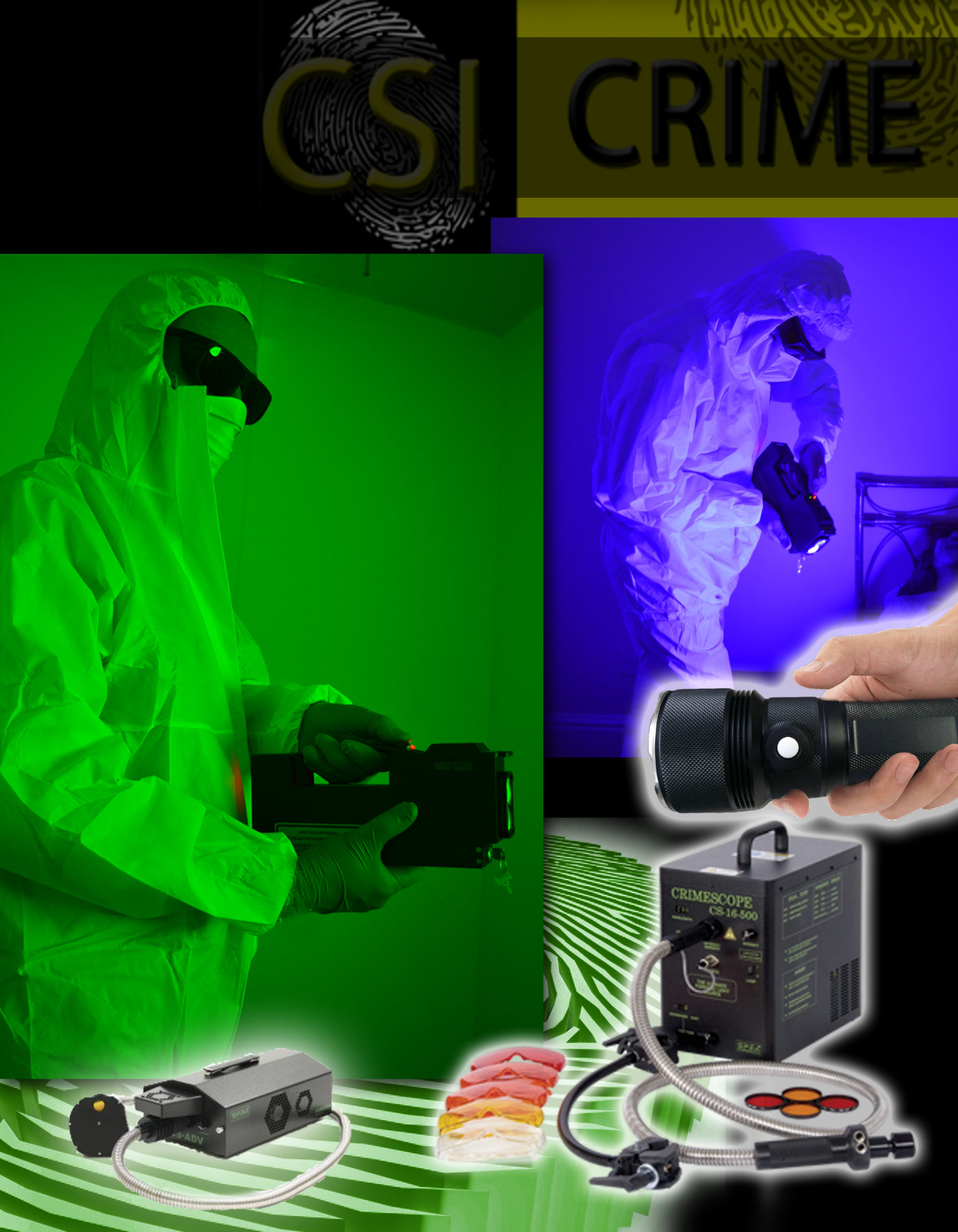 Forensic Lights and Lasers